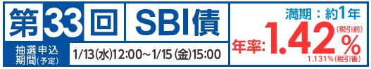 第33回SBI債